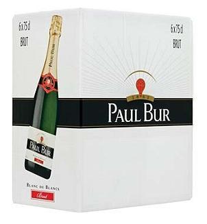 6 bouteilles de Vin mousseux Paul Bur - Brut ou Demi-Sec ou Rosé (75 cl)