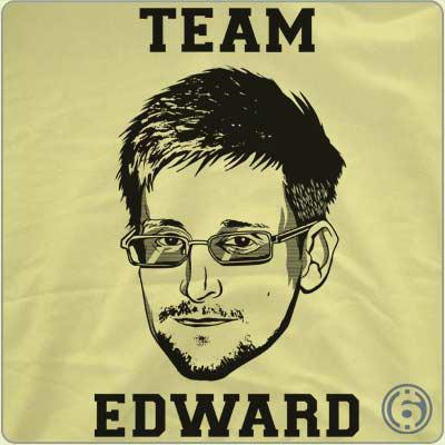 T-shirt Snowden Team Edward (Port : 7.23€)