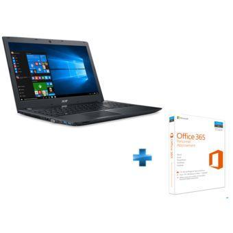 """PC portable 15.6"""" Acer Aspire E5-575G-543V (i5-7200U, GTX-950M, 8 Go de RAM, 1 To) + abonnement à Office 365 pendant un an"""