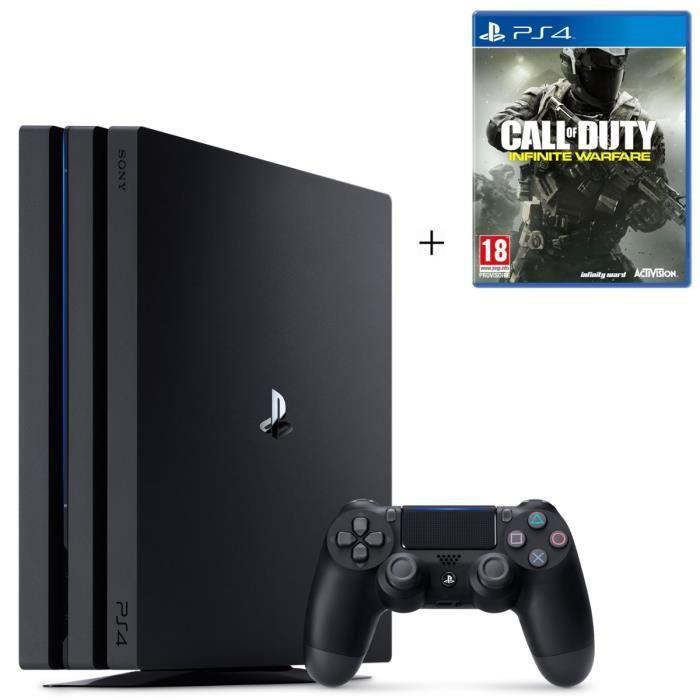 Console Sony PS4 Pro 1 To + Call Of Duty Infinite Warfare