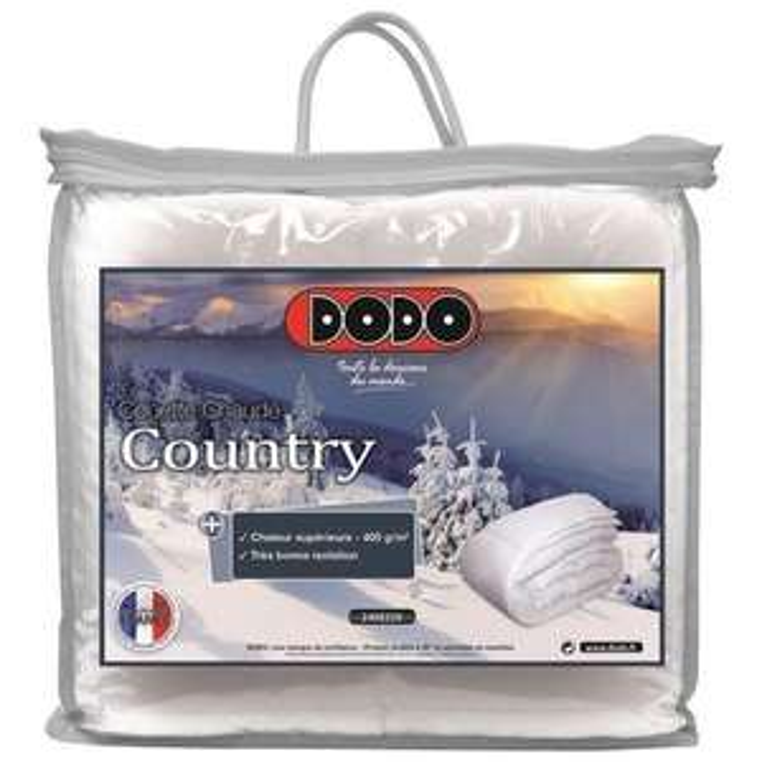 Couette chaude Dodo Country 400 gr/m² 220x240 cm