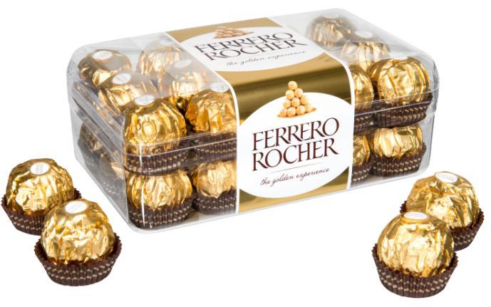 Boite de 30 Ferrero Rocher - 375g