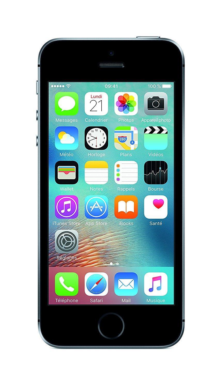 Apple iPhone SE 64 Go - Gris Sidéral / Argent / Or Rose