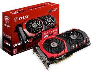 Carte graphique MSI RX480-Gaming X 8G 1312 MHz 8 Go PCI Express x16 3.0