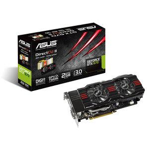 Carte Graphique Asus GeForce GTX 670 DirectCU II OC Gamer 2 Go (21€ de frais de port)