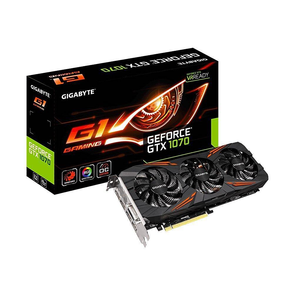Carte graphique Gigabyte GeForce GTX 1070 G1 GAMING 8go + Watch Dogs 2