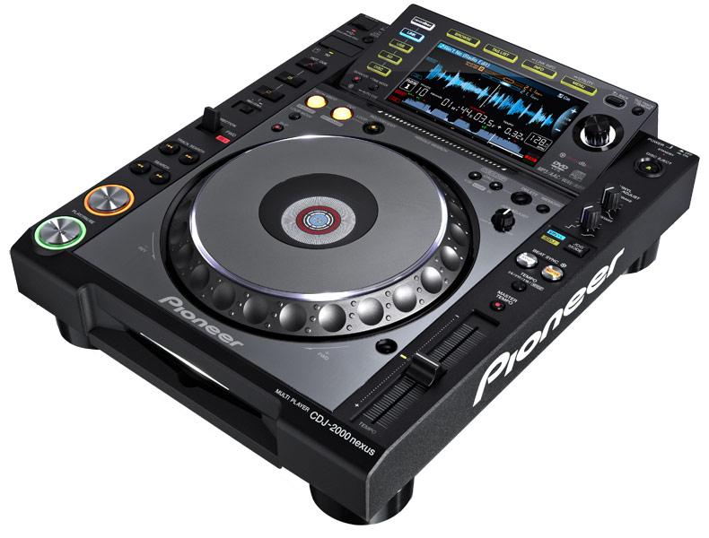 -8% sur toute la gamme Pioneer DJ (Ex. : Platine CDJ 2000 NXS à 1517€)