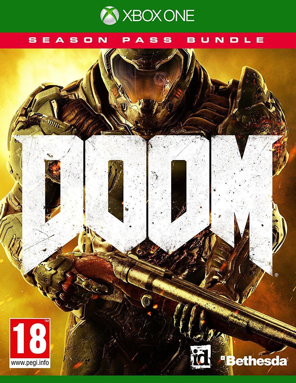 Doom + Season Pass sur PS4 ou Xbox One