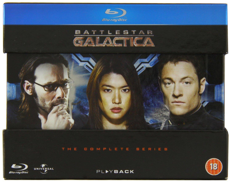 Coffret Blu-ray Battlestar Galactica - L'intégrale de la Série en VOSTFR (20 Disques)