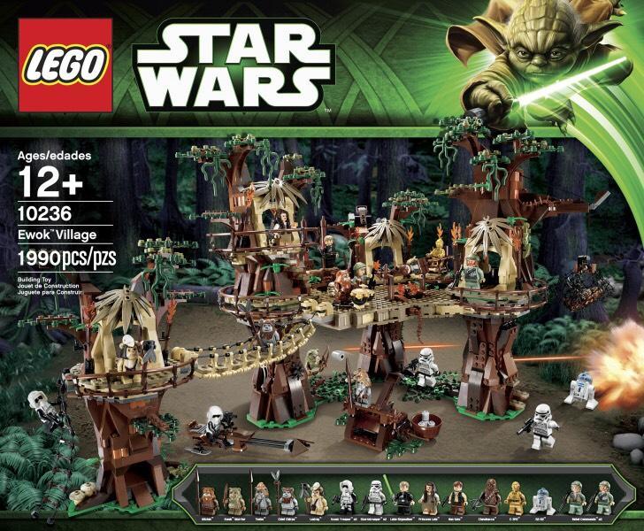 Jeu Lego Star Wars - 10236 Ewok Village