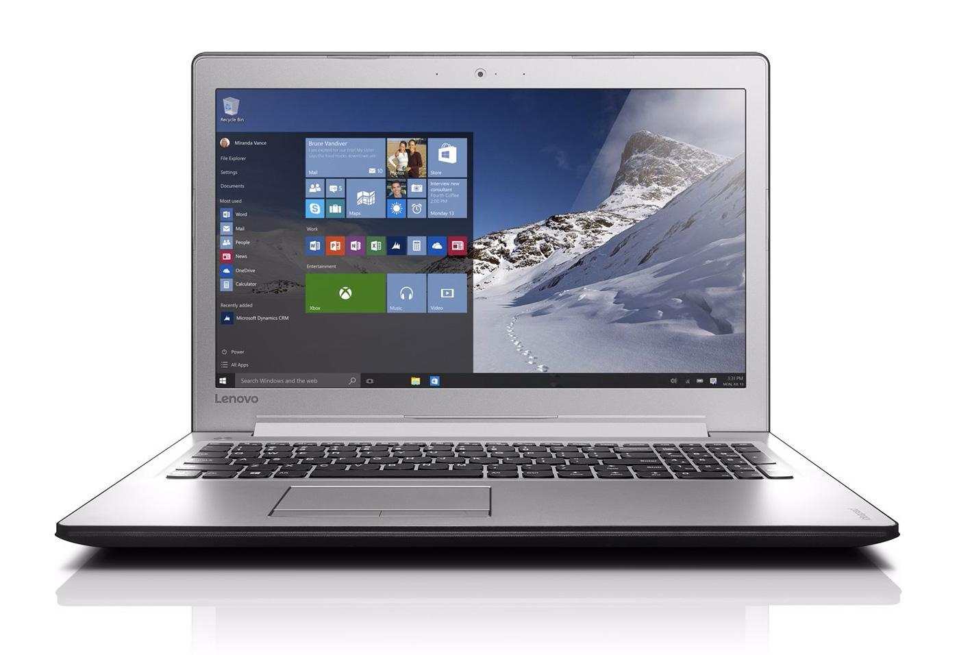 "PC Portable 15.6"" Lenovo Ideapad 510-15ISK- Full HD , i5-6200U, RAM 6Go, 1To, GeForce 940MX, Windows 10"