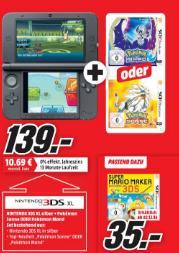 Console Nintendo 3DS XL + Pokemon Lune ou Soleil