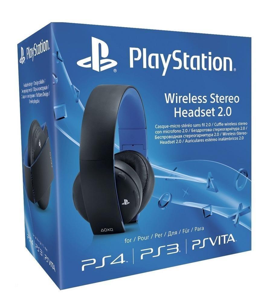 Casque Audio Sans-fil Sony 2.0 Wireless Gold sur PS3, PS4 & PC - Virtual Surround 7.1 sur PS3 / PS4 & Mode Passif Jack 3.5mm