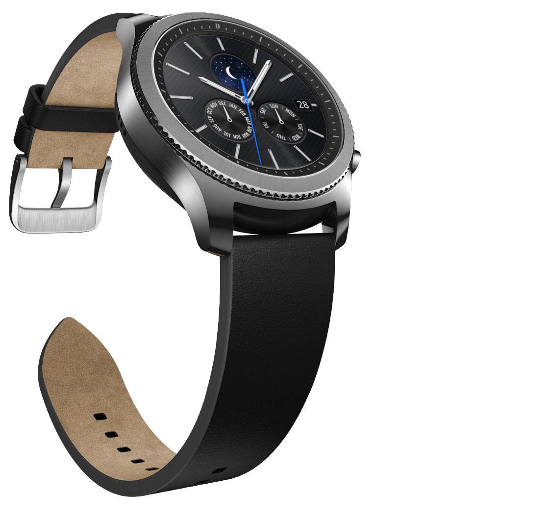 [Précommande] Montre connectée Samsung Gear S3 Classic - Argent (Via ODR de 50€)