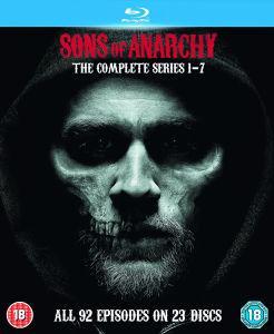 Selection de coffrets séries TV en promotion - Ex : Coffret Blu-ray Intégrale Sons of Anarchy (Vostfr)