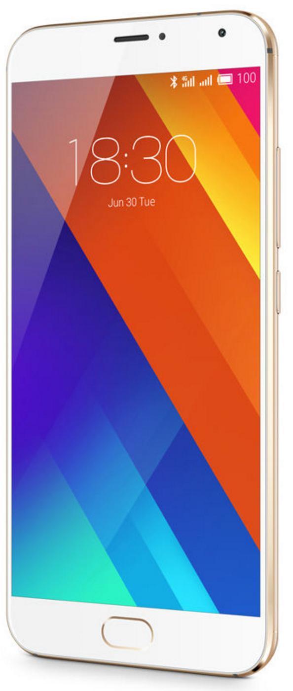 """Smartphone 5.5"""" Meizu MX5 - 32Go, 3 Go de Ram, 3150 mAh, Or"""