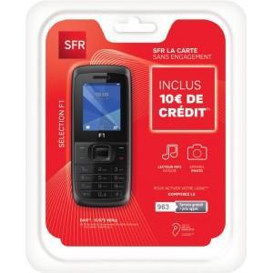 Téléphone mobile sélection F1 + 30€ de communication