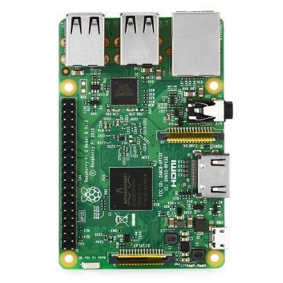 Raspberry Pi 3 B Wireless - LAN, RAM 1 Go, Bluetooth 4.1, Wi-Fi, 4 USB 2.0