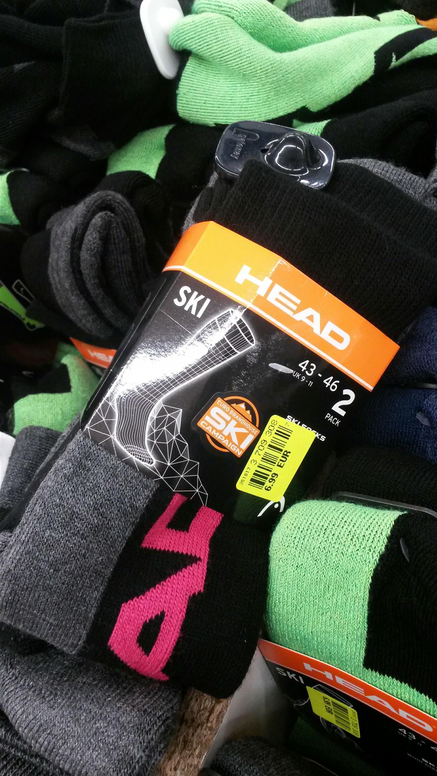Chaussettes de ski Head - Taille au choix