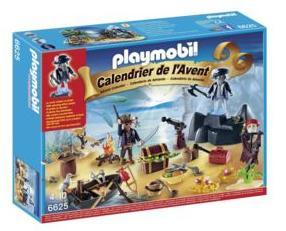 Sélection de Calendriers de l'avent en promo - Ex : Calendrier de l'avent Playmobil