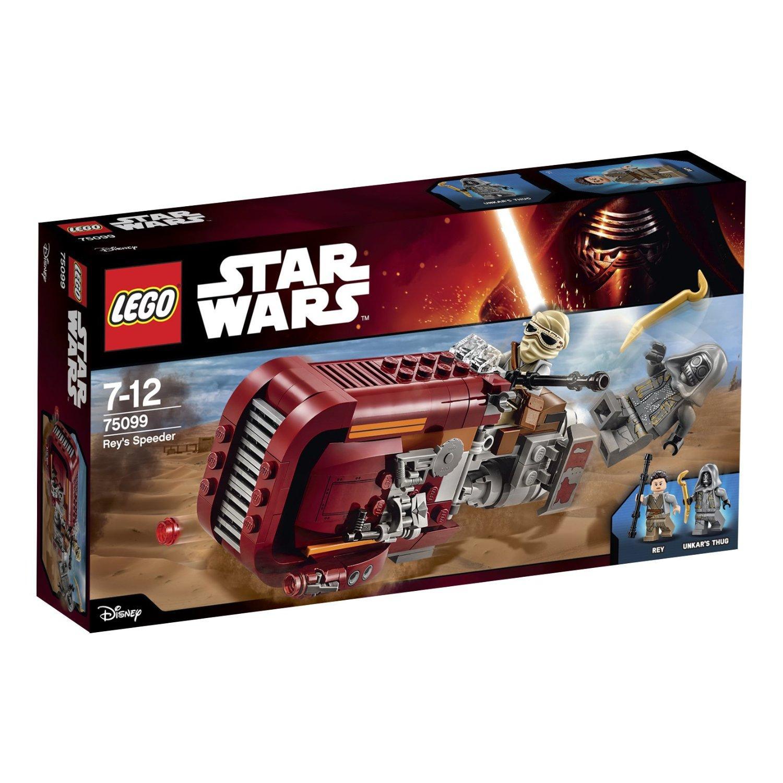Jeu de Construction Lego - 75099 Star Wars Rey's Speeder