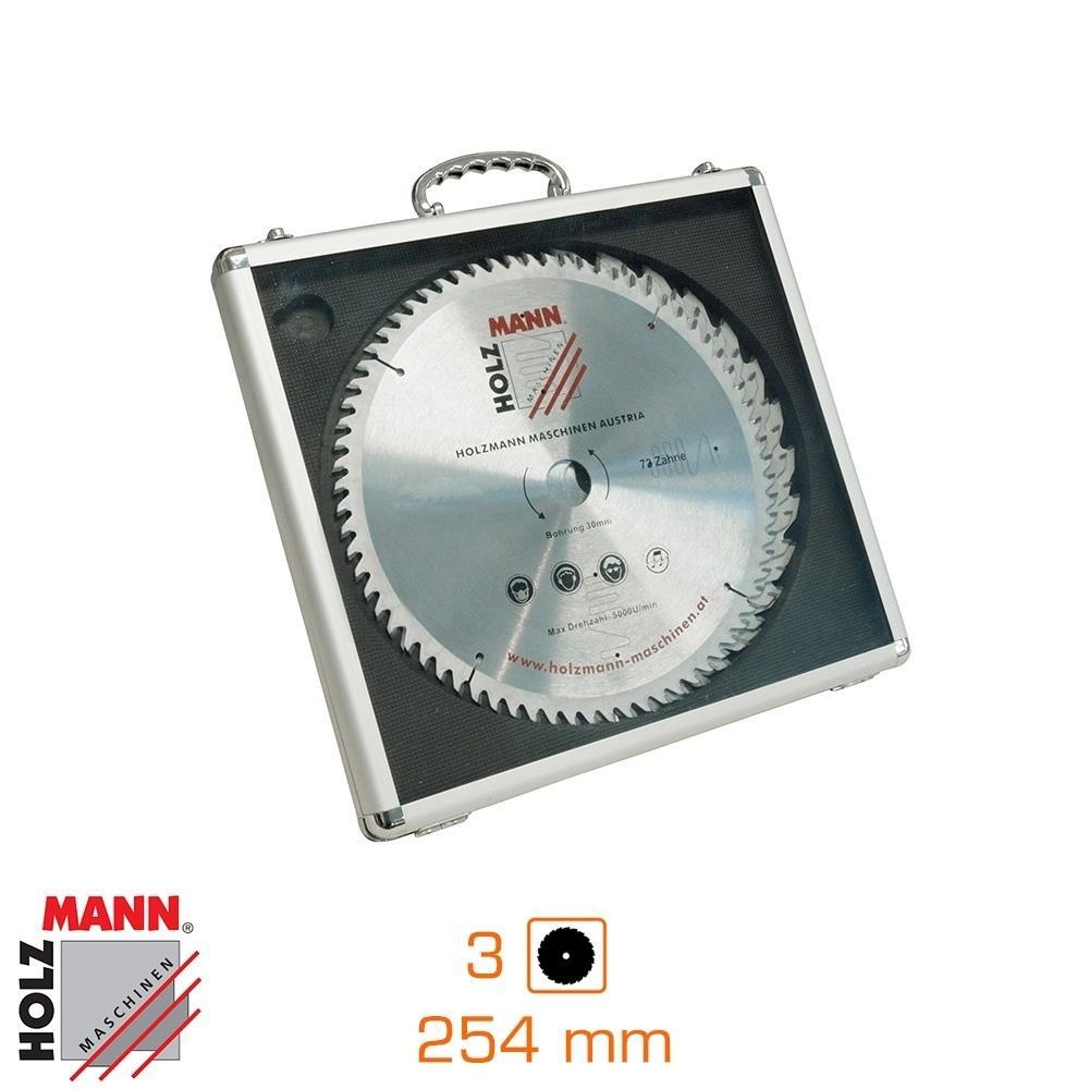 Pack de 3 disques Ø254 mm en coffret aluminium
