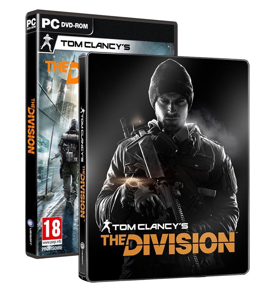 The Division + Steelbook sur PC
