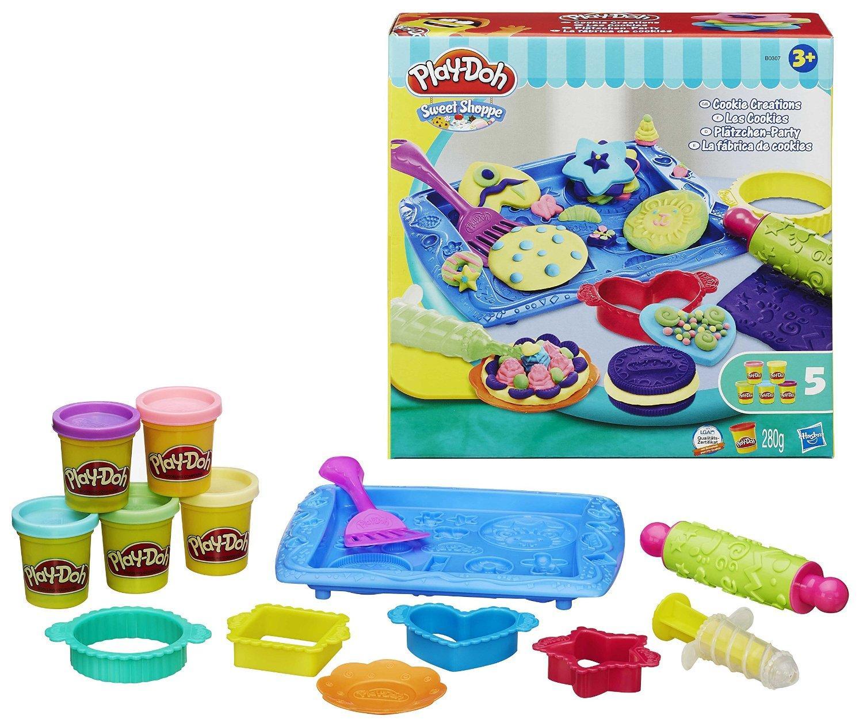 [Premium] Sélection de produits Play-Doh Pâte à modeler en promotion - Ex: Jeu de construction - Les Cookies