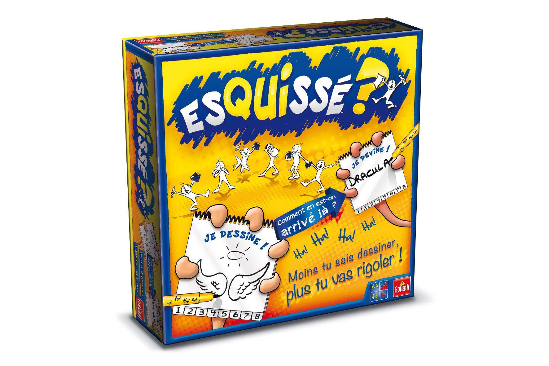 Jeu de société GOLIATH - Esquissé 6 joueurs (via ODR de 10€ + 8€ sur la carte)