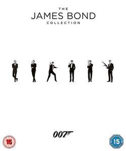 Sélection de Coffrets Blu-ray en promotion - Ex: James Bond - Collection (23 Films)