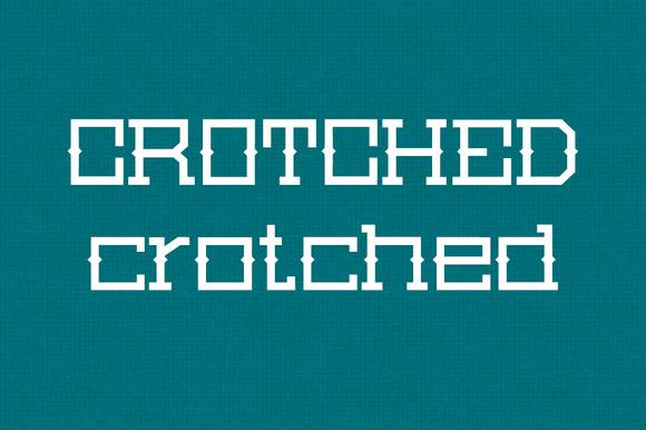 typo 'crotched' gratuite