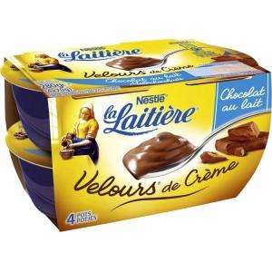 Sélection de produits en promotion - Ex: 2 Packs de Yaourts Velours de Crèmes la Laitière (via BDR + Appli) gratuits