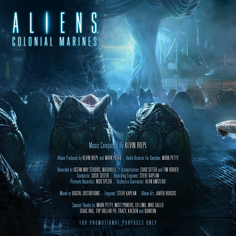 Aliens: Colonial Marines Soundtrack en Libre téléchargement