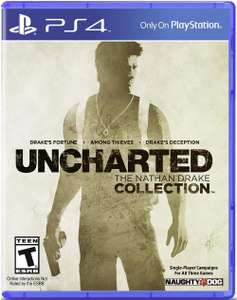 Uncharted : The Nathan Drake Collection sur PS4