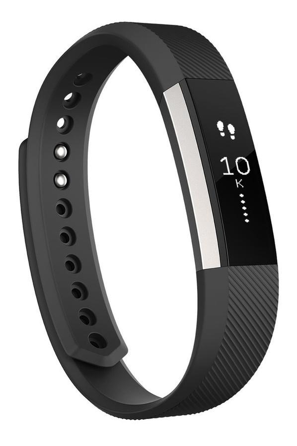 Bracelet Fitbit Alta L Noir Argent