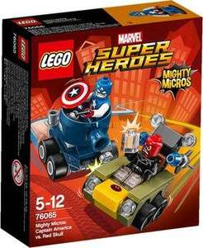 [Membres Premium] Jouet Lego Marvel Super Heroes - Mighty Micros: Captain America vs. Red Skull (76065)