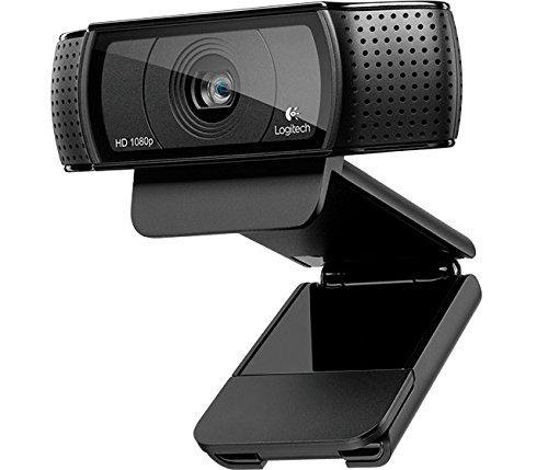 Webcam Logitech HD Pro C920 - 1080p