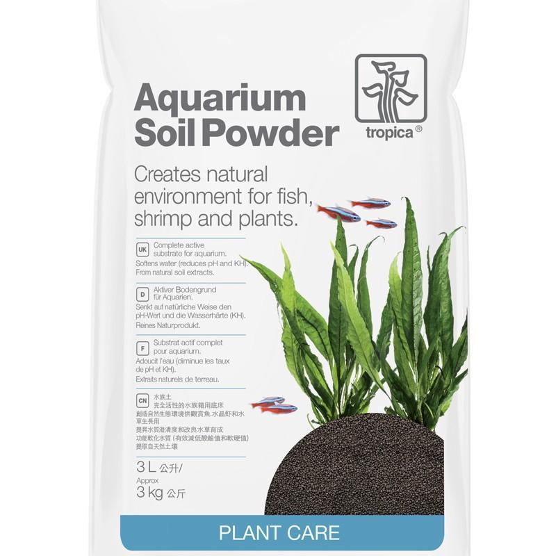3 paquets de sol technique Tropica Aquarium Soil Powder 3L