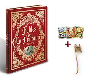 Livre des Fables de La Fontaine - Edition Prestige