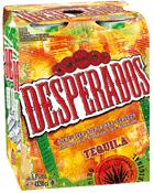 Selection packs de bières - Ex : tequila desperados (original ou red) 6x33cl