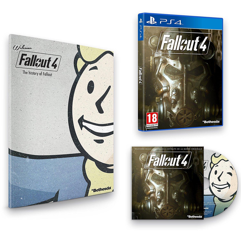 Fallout 4 - Edition Exclusive (avec artbook + bande originale) sur PS4 et Xbox One