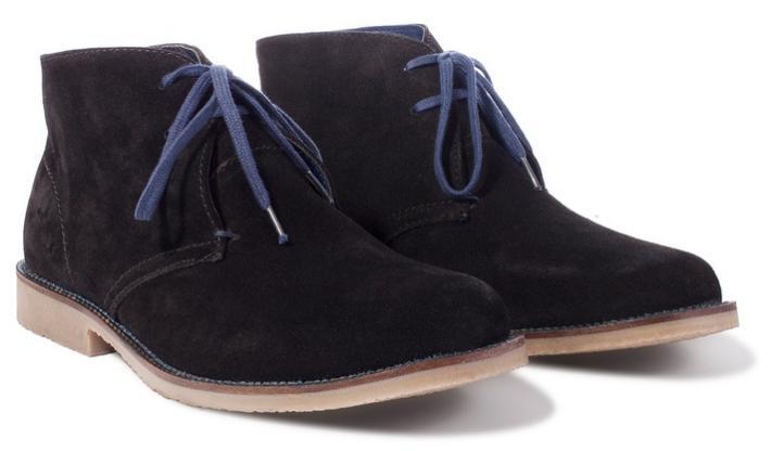 Chaussures en daim - bronze ou noir (du 41 au 46)