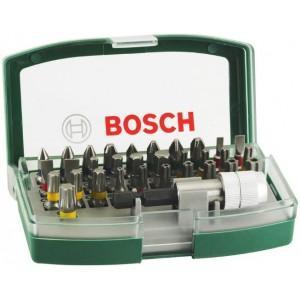 Set de 32 embouts de vissage Bosch (avec porte-embout magnétique)