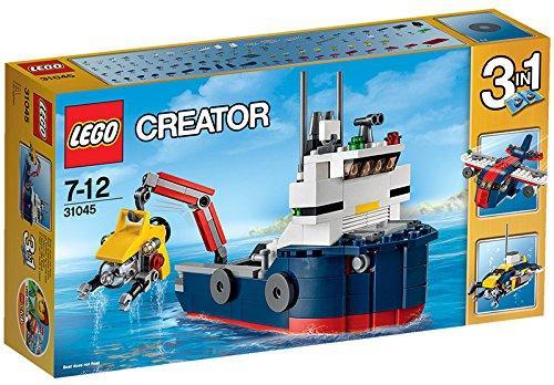 Jeu de Construction Lego L'Explorateur des Océans n°31045