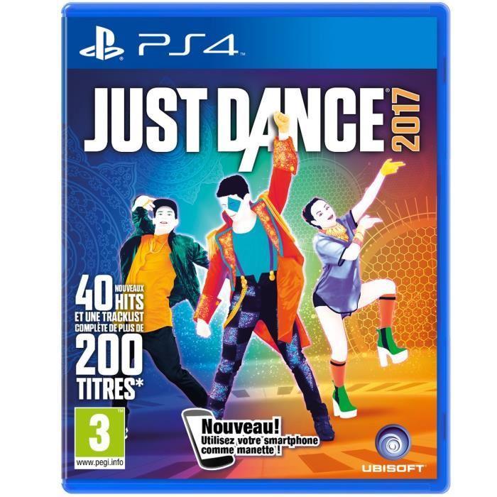 Jeu Just Dance 2017 sur PS4