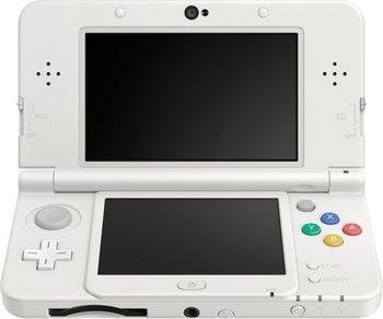 50% offerts en bon d'achat sur les consoles New Nintendo 3DS - Ex : New Nintendo 3DS - blanc (via 90€ en bon d'achat)