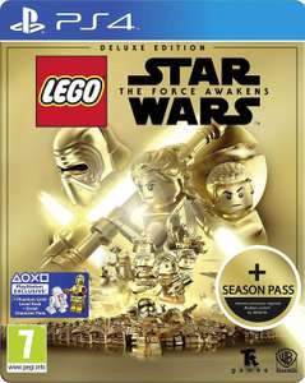 Lego Star Wars le Réveil de la force Edition deluxe ( steelbook + season pass ) sur PS4 et Xbox one