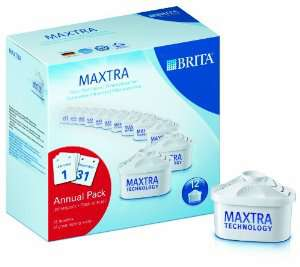 Pack de 12 cartouches filtrantes Brita Maxtra