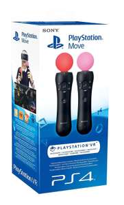 Lot de 2 Sony PlayStation Move Motion Controller - (PS4 / PSVR)