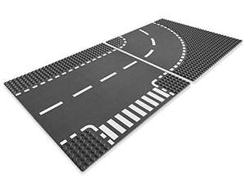 [Premium] Jouet Lego Lego City  Virage et Croisement - A1104389